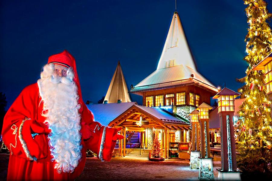 Лапландия – сказочный дом Санта Клауса