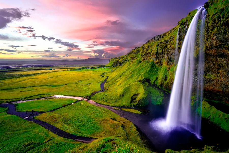 Удивительная Исландия: водопады, озёра, вулканы…